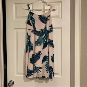 Old Navy Palm Leaf Dress